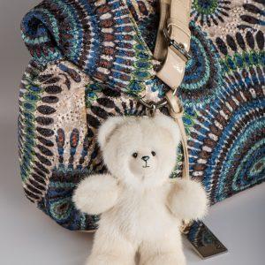 Biege Bear Keychain