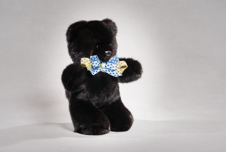 Buy Real Mink Black Bear