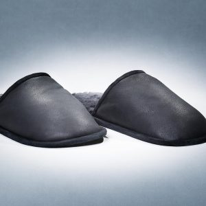 Black Slippers Men