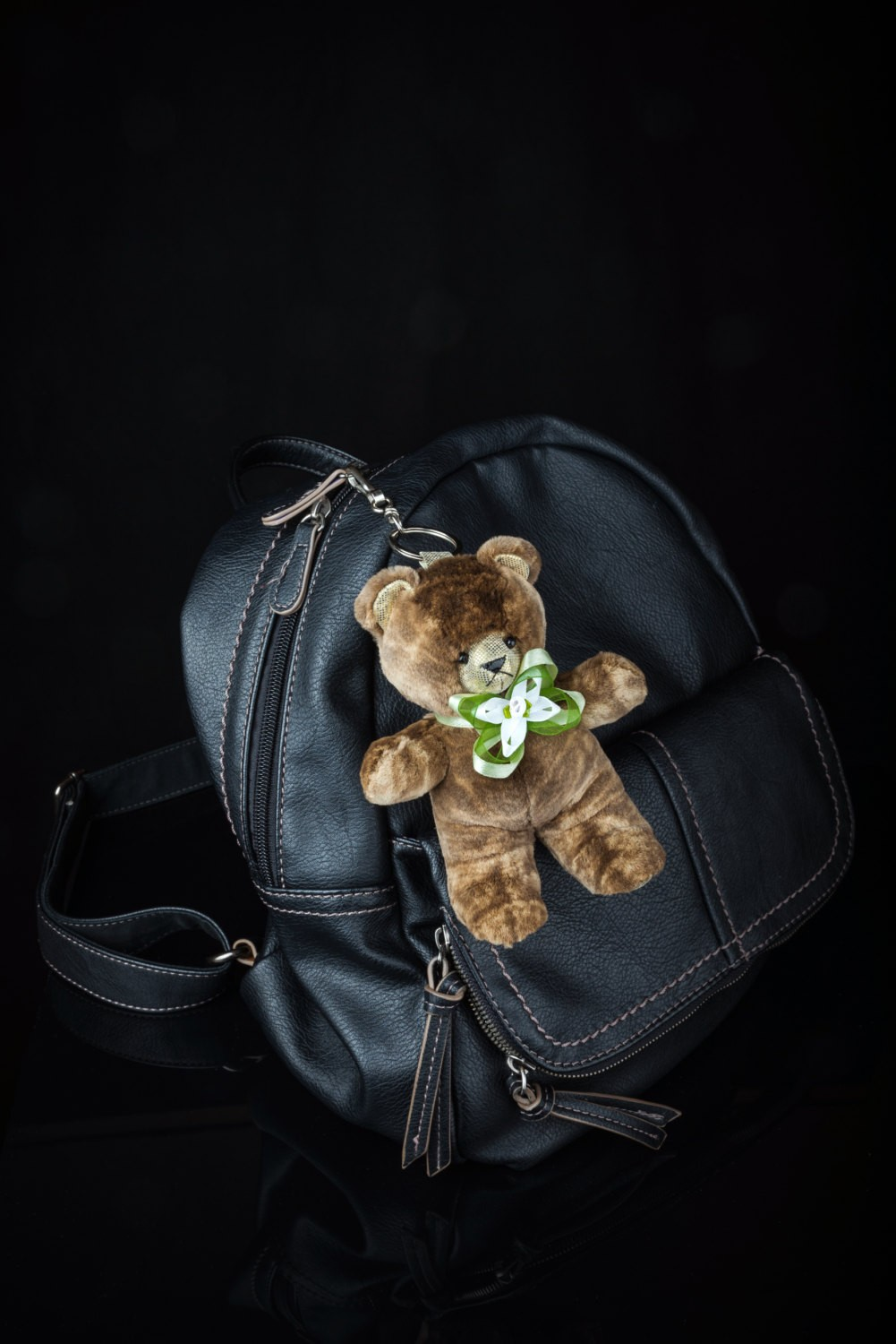 Buy Reak Fur Bear Keychain Spotty Brown