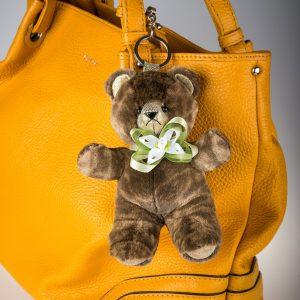 Buy Reak Fur Bear Keychain Spotty Brown