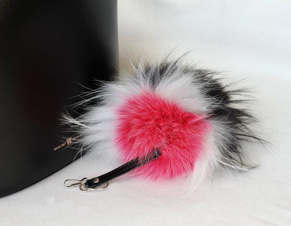 Buy Pom Pom Real Fur Bag Charm Pendant Mix Color