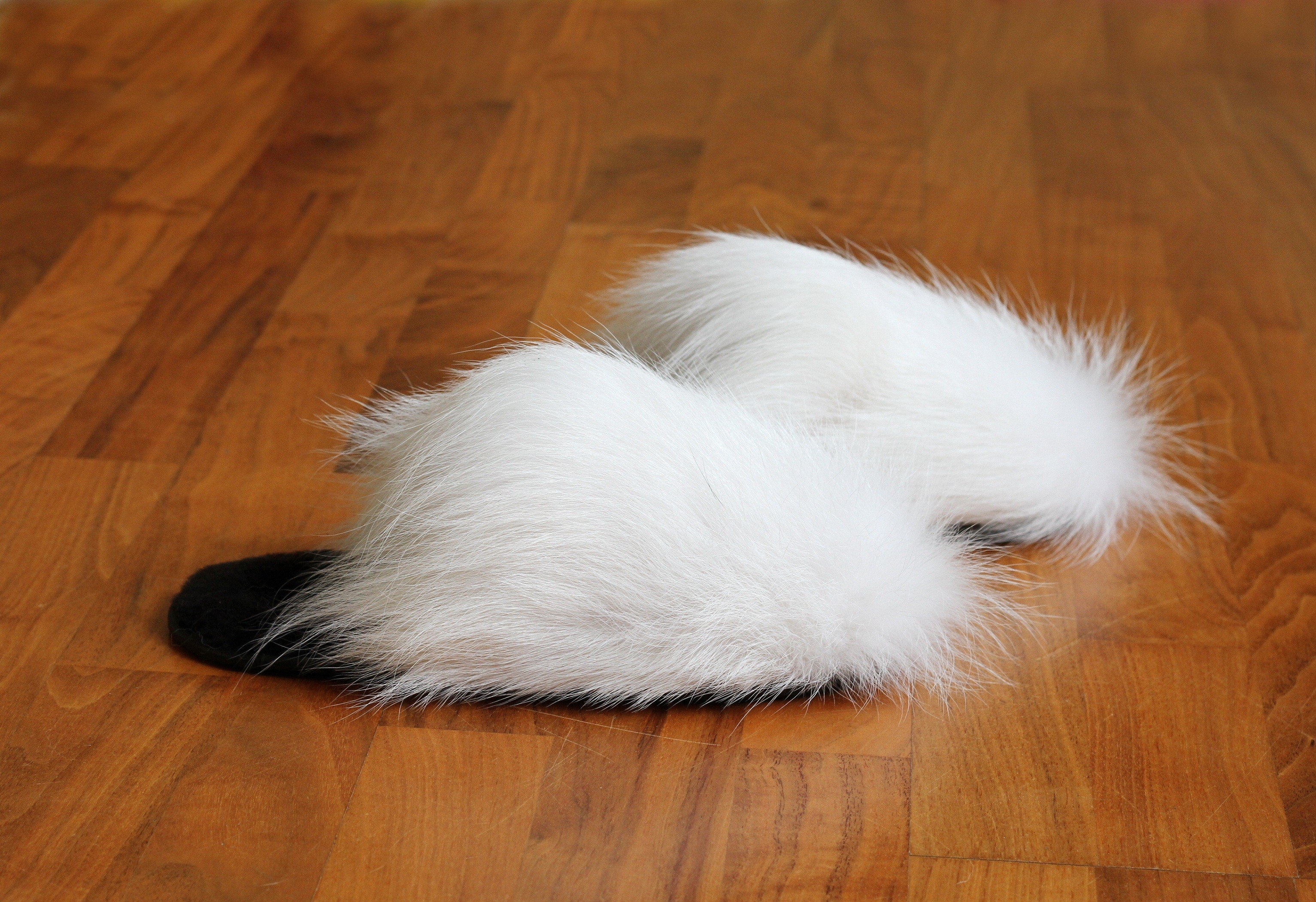 Buy Women's Slippers Real White Fox